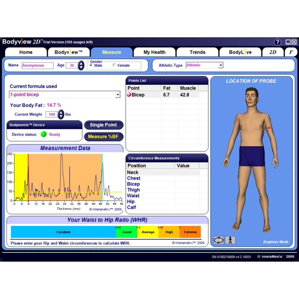 Bodymetrix Commercial Unit Bodytastic